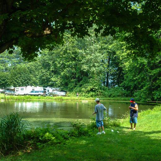 Virginia 39 s beach campground fishing lake stream for Fishing spots in virginia beach
