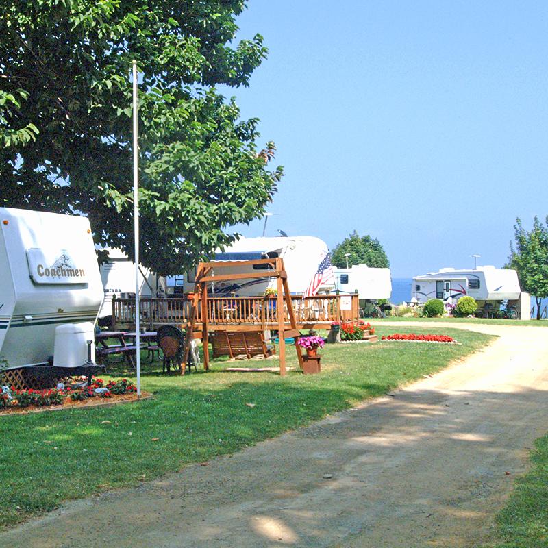 Virginia S Beach Campground Seasonal Camping On Lake Erie